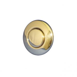 AIR BUTTON TRIM: #15 CLASSIC TOUCH, POLISHED BRASS|951741-000