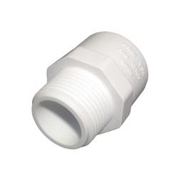 "Plumbing | AdaptersPVC ADAPTER: MALE 3/4"" MPT X 3/4"" SLIP"