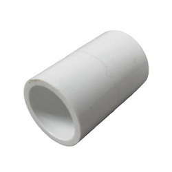 "Plumbing   PVC Pipes / FittingsPVC FITTING: COUPLING 1/2"" SLIP X 1/2"" SLIP"