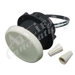 Lights / Light Parts | Light Parts / AccessoriesLIGHT PART: ELECTRIC SWITCH, WHITE WITH BLACK BODY