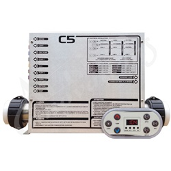 Controls / Equipment Packs | Digital / Electronic ControlsCONTROL: C5-B 240V WITH 4.0KW HEATER AND TOPSIDE