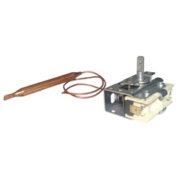 "Thermostats / Sensors / Hi Limits | Thermostats / Thermostat KnobsTHERMOSTAT: 5/16"" X 3.70"" BULB 12"" CAPILLARY BRETT-EM"