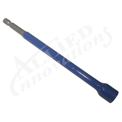 "Tools / Meters / Thermometers | BitsRACKY BIT: 3/8"" BLUE MAGNETIC HEX 6"""