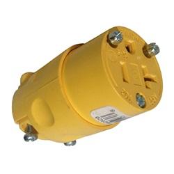 Plugs / Receptacles | Nema PlugsNEMA RECEPTACLE: 125V 20A 3-WIRE 2 POLE ROUND CONNECTOR