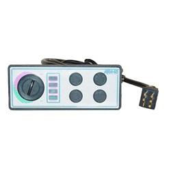 Topsides / Spaside Controls | Topsides for Air ControlsTOPSIDE: AQUA-SET - 4001-4SS - 120V - 4 BUTTON - 10'