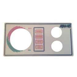 Topsides / Spaside Controls | Overlays (Faceplates, Inlays)OVERLAY: AQUA-SET - 2001/2002 - 2 BUTTON