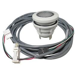 Lights / Light Parts   LightsLIGHT: CHROMATHERAPY 9 LED WHITE ROUND FLANGE WITH CORD