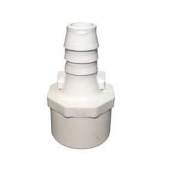 "Plumbing | AdaptersPVC ADAPTER: 1"" SLIP OR 1-1/4"" SPIGOT X 3/4"" RIBBED BARB"