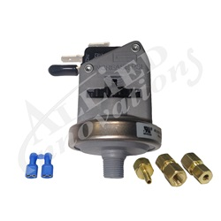 "Switches | Pressure / Vacuum SwitchesPRESSURE SWITCH: 21AMP 1/8"" NPT SPDT 1-5PSI PACKAGED (UNIVERSAL)"