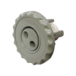 "Jets / Jet Parts | Jet InternalsJET INTERNAL: 2-1/2"" MINI PULSATOR SCALLOP GRAY"