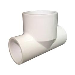 """Plumbing   PVC Pipes / FittingsPVC FITTING: BULLHEAD TEE 1"""" SLIP X 1"""" SLIP X 1-1/2"""" SLIP"""