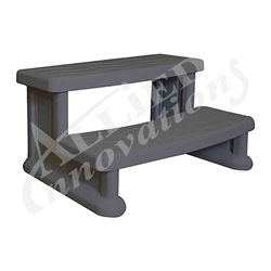 Accessories / Maintenance | Deck AccessoriesSTEP ASSEMBLY: SPA SIDE STEP WARM GRAY