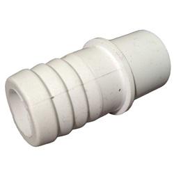 "Plumbing | AdaptersPVC ADAPTER: 1/2"" SPIGOT X 3/4"" RIBBED BARB"