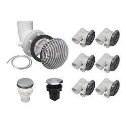 Plumbing | Plumbing Kits for Jetted TubsPLUMBING KIT: CLASSIC CHROME