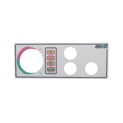 Topsides / Spaside Controls | Overlays (Faceplates, Inlays)OVERLAY: AQUA-SET - 4001/4002 - 3 BUTTON