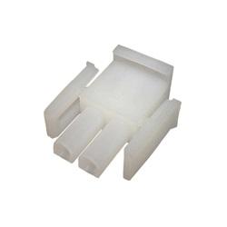 Plugs / Receptacles | Amp Cords / ConnectorsAMP PLUG: MATE-N-LOCK 2-PIN WHITE