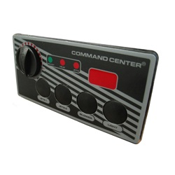 Topsides / Spaside Controls | Topsides for Air ControlsTOPSIDE: COMMAND CENTER - 4 BUTTON - 120V - 10' - DIGITAL DISPLAY