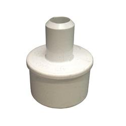 "Plumbing | AdaptersPVC ADAPTER: 1-1/2"" SPIGOT X 3/4"" SMOOTH BARB"