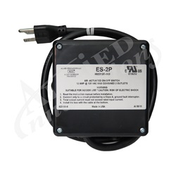 Controls / Equipment Packs   Garbage Disposal ControlsCONTROL: ES-2P 120V WITH 3' CORD WITHOUT BUTTON