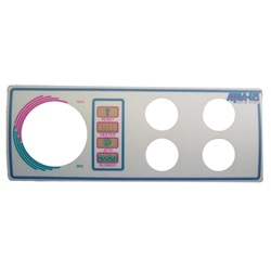 Topsides / Spaside Controls | Overlays (Faceplates, Inlays)OVERLAY: AQUA-SET - 4001/4002 - 4 BUTTON