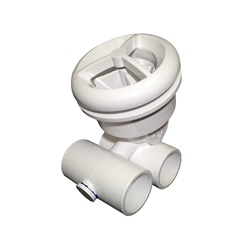 "Jets / Jet Parts | Jet AssembliesJET ASSEMBLY: 1"" SLIP AIR X 1"" SLIP WATER MICRO'SSAGE WHITE"