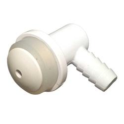 "Plumbing | Air InjectorsAIR INJECTOR: 3/8"" BARB VERTICAL BODY WHITE"