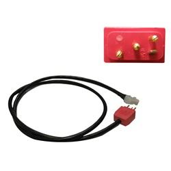 "Plugs / Receptacles | Cord AdaptersCORD ADAPTER: PUMP 1 AMP TO MJJ PLUG 36"""