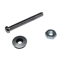 Controls / Equipment Packs | Control AccessoriesMASS SENSOR: BRASS SCREW AND HEX NUT FOR WATER LEVEL BRUSHED NICKEL