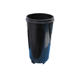 """Filters / Filter Parts   Filter CanistersFILTER CANISTER: 12-1/2"""" BODY ONLY - BLACK"""