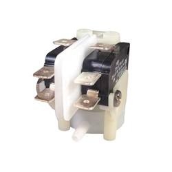 Switches | Air SwitchesAIR SWITCH: 21AMP DPDT LATCHING RADIAL SPOUT