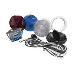 "Lights / Light Parts | Light Parts / AccessoriesLIGHT KIT: 3-1/2"" WALL FITTING WITH 8' HARNESS AND BULB - FRONT ACCESS"