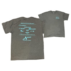 "P O P / Displays | Advertising / PromotionalALLIED INNOVATIONS ""A"" TEAM MEMORABILIA T-SHIRT SIZE LARGE"