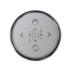 Featured Brands | C G Air Systemes IncTOPSIDE: CLASSIC LED ROUND, 4 BUTTON CHROME