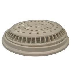 "Skimmers / Suctions / Drains | Main Drains / PartsMAIN DRAIN: 8"" ROUND ANTI-VORTEX WHITE"