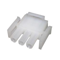 Plugs / Receptacles | Amp Cords / ConnectorsAMP PLUG: MATE-N-LOCK 3-PIN WHITE