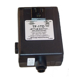 Controls / Equipment Packs | Jetted Bath ControlsCONTROL: TF-1TD 20MIN 120V 1.0HP PACKAGED WITHOUT BUTTON