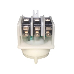 "Switches | Sequencing / Stepper SwitchesAIR SWITCH: 4-FUNCTION 21AMP GREEN CAM 8/32"" SIDE"