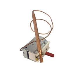 "Thermostats / Sensors / Hi Limits | Hi Limit SensorsHI LIMIT: SPST 1/4"" X 3.36"" BULB 12"" CAPILLARY 25A"