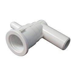 "Jets / Jet Parts | Ozone Jet AssembliesOZONE JET PART: 3/8"" SMOOTH BARB X 3/4"" SMOOTH BARB CLUSTER ELL BODY WITH NOZZLE"