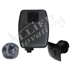 Controls / Equipment Packs   Garbage Disposal ControlsCONTROL: TF-1 120V 1.0HP PKG WITH #20 SQUARE BLACK BUTTON