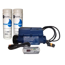 Ozonators / Sanitizers | Purifying SystemIN.CLEAR BROMINE SYSTEM BUNDLE WITH TOPSIDE AND BROMICHARGE
