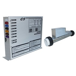 Controls / Equipment Packs | Digital / Electronic ControlsCONTROL: C5-R 240V WITH 4.0KW REMOTE HEATER, TOPSIDE AND CORDS