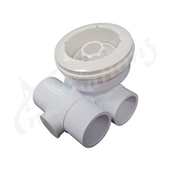 "Jets / Jet Parts | Jet AssembliesJET ASSEMBLY: 3-1/4"" TS-III DIRECTIONAL NOZZLE, WHITE"