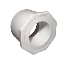 "Plumbing   PVC Pipes / FittingsPVC FITTING: BUSHING 2-1/2"" SLIP X 1-1/2"" SLIP"