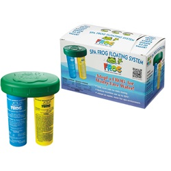Ozonators / Sanitizers | ChemicalsSPA FROG: FLOATING SYSTEM WITH 4-WAY TEST STRIPS