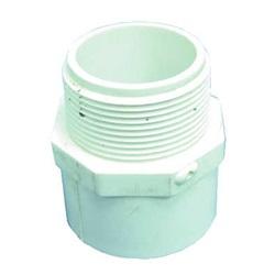 "Plumbing | AdaptersPVC ADAPTER: MALE 1-1/2"" SLIP X 1-1/2"" MIPT"