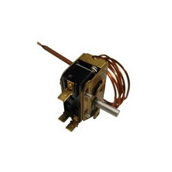 "Thermostats / Sensors / Hi Limits | Thermostats / Thermostat KnobsTHERMOSTAT: 5/16"" X 6"" BULB 48"" CAPILLARY LOW VOLTAGE"