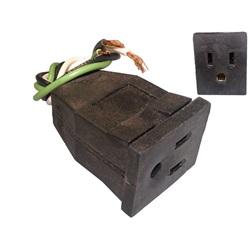 "Plugs / Receptacles | Nema PlugsNEMA RECEPTACLE: 18/3 9"""