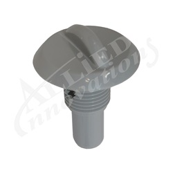 "Air Controls | Venturi Parts / AccessoriesVENTURI AIR CONTROL PART: 1/2"" STEM ASSEMBLY, GRAY"
