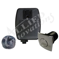 Controls / Equipment Packs   Garbage Disposal ControlsCONTROL: TF-1, 120V 1.0HP PKG WITH SQUARE CHROME BUTTON